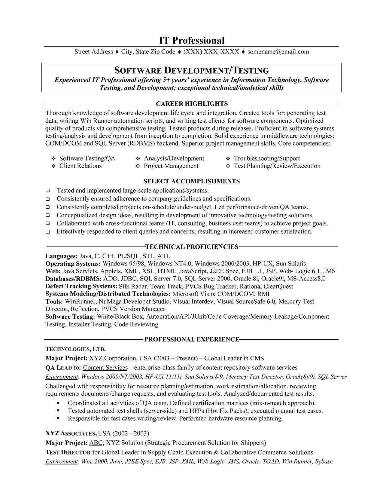 professional resume writing service bay area